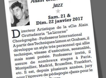 DALEAS DANSE > Stage Alain GRUTTADAURIA (Annecy)