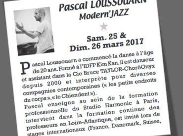 DALEAS DANSE > Stage Pascal LOUSSOUARN (Annecy)